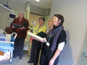 Hospice Peterborough bedside singers 006