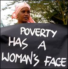 women's face of poverty
