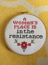 a woman's place is in the resistance