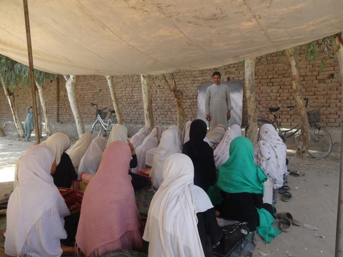 afghan girls' education photo