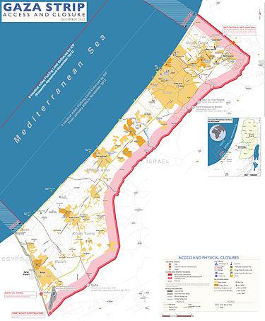 gaza blockade photo