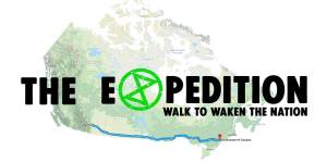 the expedition, walk to waken the nation